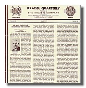 """Ancient"" Kraissl Newsletters"